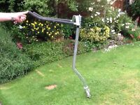 Bike Carrier suitable for 4 x 4 vehicle with spare wheel on back door
