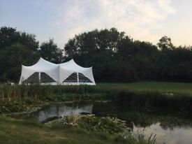 22ft by 44ft Capri Marquee for sale Trapezium style Marquee