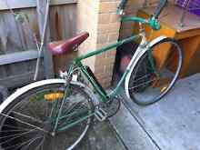 Vintage bike green Yarraville Maribyrnong Area Preview