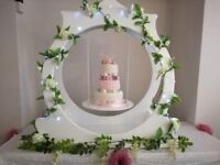 Rustic Wedding decorations, post box, backdrop, 4ft Love letters, cake stand, chiffon chair hood