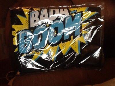 Brand New Official WWE Enzo Cass Bada Boom Black T-shirt Size L