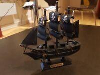 Black pearl boat