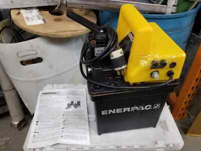New Enerpac Pem1401e 2-speed Electric Submerged Hydraulic Pump 230v