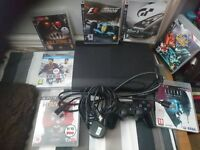 ps3 super slim with 7 games