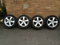"16"" Alloys with tyres"