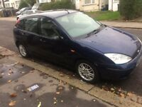 FORD FOCUS 1.6 PETROL 5 DOOR BLUE MOT 03/2018 TAX READY TO DRIVE GOOD TYRES ALLOYS CHEAP ON FUEL