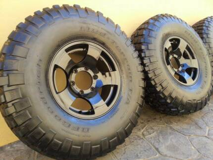 "5 x 33"" Bfgoodrich Mud Terrain Tyres and CSA Rims Yangebup Cockburn Area Preview"