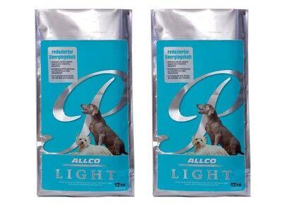 Allco Premium Light Reisflocke | 2x 12kg Hundefutter