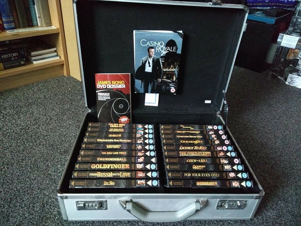 James Bond Ultimate Editions Collection Attache Briefcase 21 Dvds Plus Booklet In Newcastle Tyne And Wear Gumtree