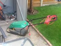 Qualcast hover lawnmower