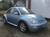 VW Beetle 1.6cc 85k full service history and belt changed brand new MOT lovely condition