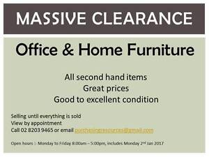 Clearance Sale - Home and Office Furniture Denham Court Campbelltown Area Preview