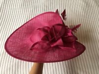 Saucer hat for horse races, weddings, afternoon tea and other fab occasions