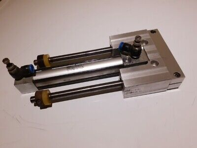 "Rexroth pneumatic cylinder 0 822 031 202 stroke 1/"" shaft 6mm new each"