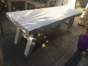 Shabby Chic A Frame Tresel Table Nerang Gold Coast West Preview
