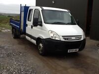 Iveco Daly crew cab tipper