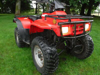 HONDA TRX250 FOURTRAX 4X2 2006 QUAD BIKE SEE VIDEO CAN DELIVER FARM STABLES SMALLHOLDER