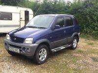 2002 Daihatsu 4x4 1.3 terios