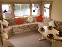 STATIC CARAVAN SALE - FREE 2017 SITE FEES - 3 bedroom caravan - no hidden costs, finance available