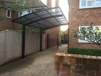 Aluminium carport inc fitting £3000 in Black, Bronze or Silver anywhere mainland England