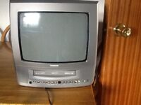 Thomson portable t v/ video recorder ( can record from t v) ideal for caravans