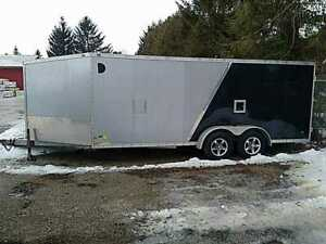 2011 Stealth Trailers 7x18 V Nose