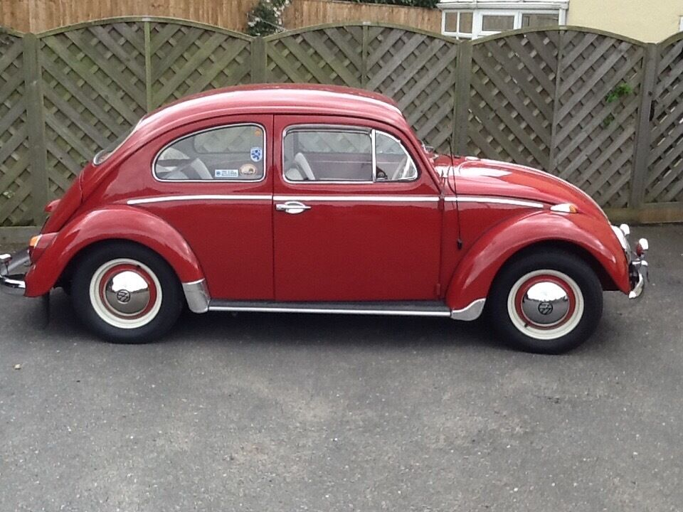 Classic vw beetle 1962, rhd in ruby red | in Chelmsford ...