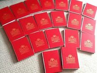 Children's Brittanica 20 volumes as new Red Leather