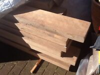 Beech timber batons