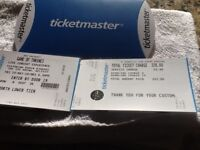 GAME OF THRONE LIVE CONCERT EXPERIENCE 25 MAY BELFAST - 4 TICKETS BRILLIANT SEATS