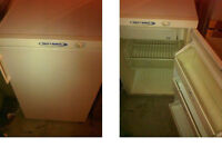 TRICITY BENDIX UNDER COUNTER FRIDGE WITH SMALL FREEZER COMPARTMENT GOOD WORKING ORDER