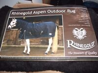 Rhinegold Aspen Outdoor Horse Rug - 7' - with neck