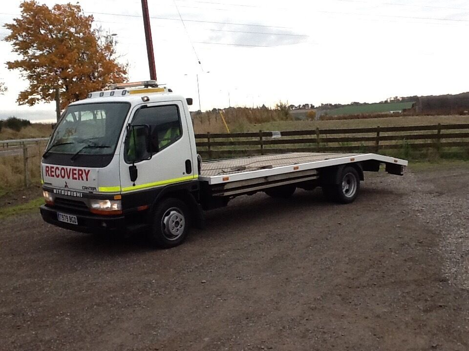 mitsubishi canter recovery truck 3 5 ton in angus gumtree