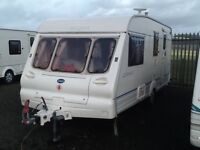 2000 Bailey ranger 510/4 berth end changing room end changing room with awning & extras