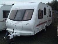 2001 elddis odyssey 505/5 berth double DINNETTE with fitted mover