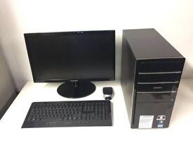 Gaming Computer PC Complete Setup with 21 inch Monitor (intel i5, 8GB RAM, 2TB HD, Radeon HD 6670)