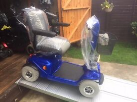 ALL TERRAIN DAYS BLUE - MID SIZED MOBILITY SCOOTER - 18ST USER - 10+ MILES - WAS £2800 - JUST £340