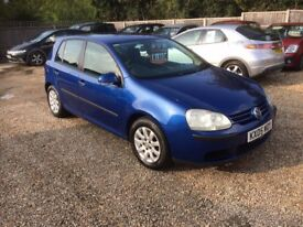 2005 VW GOLF 1.9 TDI DIESEL SE MOT OCT 2018 2 KEYS 2 OWNERS