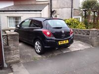 2006 Corsa 1.2, in Black great little runner with Alloy wheels and Air Con, 73000 miles