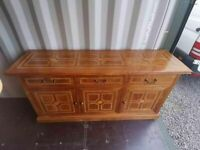 CAN DELIVER - MARKS & SPENCER MALABAR SIDEBOARD - SIMILAR TO BARKERS FLAGSTONE VERY GOOD CONDITION