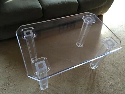 Acrylic Creations Acrylic Coffee Table
