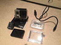 GoPro Hero 3 silver + LCD touch BacPAC