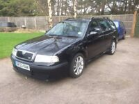 Skoda Octivia Estate VRS Petrol 1.8 TOP SPEC