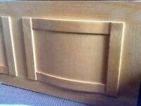 new, wooden bath panel