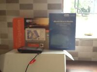 Blue media Satnav , boxed only used few times, as new