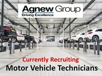 Motor Vehicle Technicians / Mechanics - Currently Recruiting