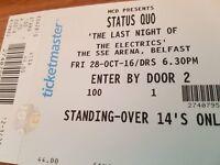 Status Quo - Belfast 2016