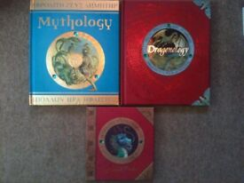 Mythology + dragonology + Dragonology: working with dragons (collection only)