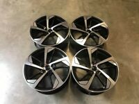 "18 19 20"" Inch Audi RS5 Style Wheels A3 A4 A5 A6 A7 A8 Caddy Van Seat Leon Skoda 5x112"