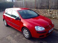 2008 08 Volkswagen Golf Hatchback MK5 2.0 SDI S, 5 Door, Manual, Metallic Red, Brand New MOT